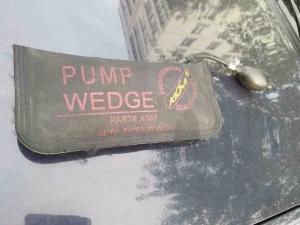 подушка для вскрытия автомобиля